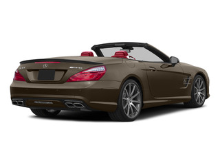 Dolomite Brown Metallic 2015 Mercedes-Benz SL-Class Pictures SL-Class Roadster 2D SL63 AMG V8 Turbo photos rear view