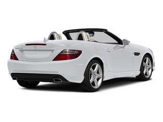 Polar White 2015 Mercedes-Benz SLK-Class Pictures SLK-Class Roadster 2D SLK250 I4 Turbo photos rear view