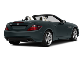Steel Gray Metallic 2015 Mercedes-Benz SLK-Class Pictures SLK-Class Roadster 2D SLK250 I4 Turbo photos rear view