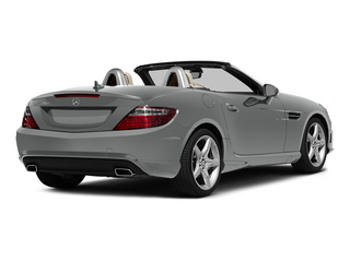 Palladium Silver Metallic 2015 Mercedes-Benz SLK-Class Pictures SLK-Class Roadster 2D SLK250 I4 Turbo photos rear view
