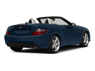 Lunar Blue Metallic 2015 Mercedes-Benz SLK-Class Pictures SLK-Class Roadster 2D SLK250 I4 Turbo photos rear view