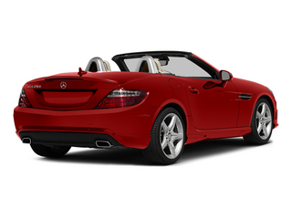 Cardinal Red Metallic 2015 Mercedes-Benz SLK-Class Pictures SLK-Class Roadster 2D SLK250 I4 Turbo photos rear view