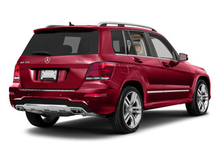 Mars Red 2015 Mercedes-Benz GLK-Class Pictures GLK-Class Utility 4D GLK350 AWD V6 photos rear view