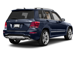 Lunar Blue Metallic 2015 Mercedes-Benz GLK-Class Pictures GLK-Class Utility 4D GLK350 AWD V6 photos rear view