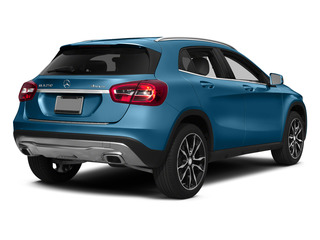 South Seas Blue Metallic 2015 Mercedes-Benz GLA-Class Pictures GLA-Class Utility 4D GLA250 AWD I4 Turbo photos rear view