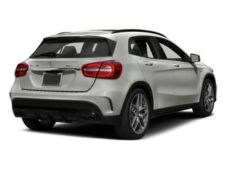 Polar Silver Metallic 2015 Mercedes-Benz GLA-Class Pictures GLA-Class Utility 4D GLA45 AMG AWD I4 Turbo photos rear view