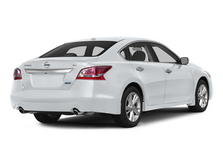 Solid White 2015 Nissan Altima Pictures Altima Sedan 4D SV I4 photos rear view