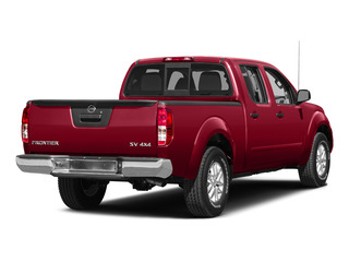 Lava Red 2015 Nissan Frontier Pictures Frontier Crew Cab SV 2WD photos rear view
