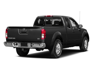 Super Black 2015 Nissan Frontier Pictures Frontier King Cab S 2WD photos rear view