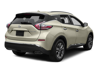 Pearl White 2015 Nissan Murano Pictures Murano Utility 4D S 2WD V6 photos rear view