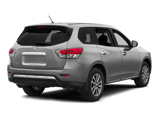 Brilliant Silver 2015 Nissan Pathfinder Pictures Pathfinder Utility 4D S 4WD V6 photos rear view