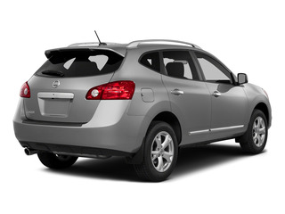 Brilliant Silver 2015 Nissan Rogue Select Pictures Rogue Select Utility 4D S 2WD I4 photos rear view