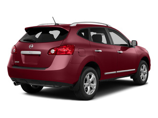 Cayenne Red 2015 Nissan Rogue Select Pictures Rogue Select Utility 4D S 2WD I4 photos rear view