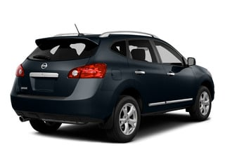 Graphite Blue 2015 Nissan Rogue Select Pictures Rogue Select Utility 4D S 2WD I4 photos rear view