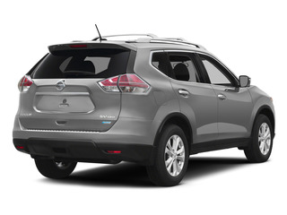 Brilliant Silver 2015 Nissan Rogue Pictures Rogue Utility 4D SV AWD I4 photos rear view
