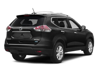 Super Black 2015 Nissan Rogue Pictures Rogue Utility 4D SV AWD I4 photos rear view