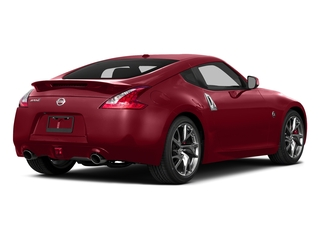 Solid Red 2015 Nissan 370Z Pictures 370Z Coupe 2D V6 photos rear view