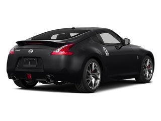 Magnetic Black Metallic 2015 Nissan 370Z Pictures 370Z Coupe 2D V6 photos rear view