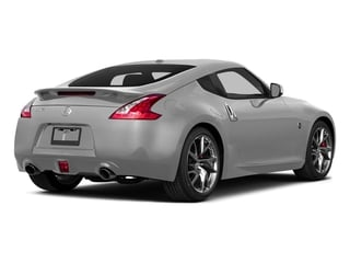 Brilliant Silver Metallic 2015 Nissan 370Z Pictures 370Z Coupe 2D V6 photos rear view