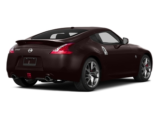 Black Cherry Metallic 2015 Nissan 370Z Pictures 370Z Coupe 2D V6 photos rear view