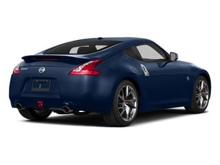 Midnight Blue Metallic 2015 Nissan 370Z Pictures 370Z Coupe 2D V6 photos rear view