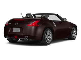Black Cherry Metallic 2015 Nissan 370Z Pictures 370Z Roadster 2D Touring Sport V6 photos rear view