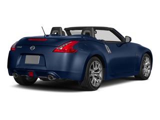 Midnight Blue Metallic 2015 Nissan 370Z Pictures 370Z Roadster 2D Touring Sport V6 photos rear view