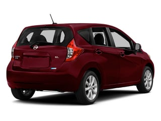 Red Brick Metallic 2015 Nissan Versa Note Pictures Versa Note Hatchback 5D Note S Plus I4 photos rear view