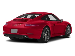Guards Red 2015 Porsche 911 Pictures 911 Coupe 2D 4 AWD H6 photos rear view