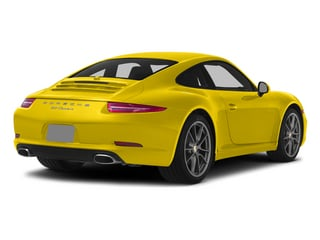 Racing Yellow 2015 Porsche 911 Pictures 911 Coupe 2D 4 AWD H6 photos rear view