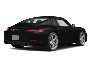 Jet Black Metallic 2015 Porsche 911 Pictures 911 2 Door Coupe photos rear view
