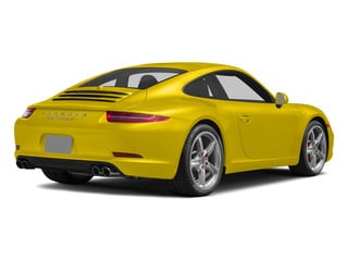 Racing Yellow 2015 Porsche 911 Pictures 911 2 Door Coupe photos rear view