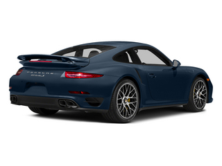 Dark Blue Metallic 2015 Porsche 911 Pictures 911 Coupe 2D Turbo S AWD H6 photos rear view