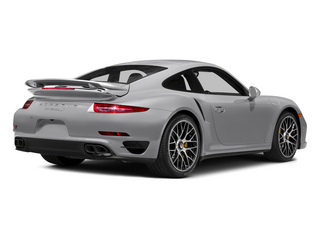 GT Silver Metallic 2015 Porsche 911 Pictures 911 Coupe 2D Turbo S AWD H6 photos rear view