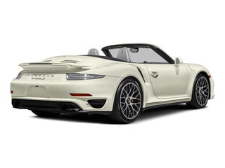 Carrara White Metallic 2015 Porsche 911 Pictures 911 Cabriolet 2D S AWD H6 Turbo photos rear view