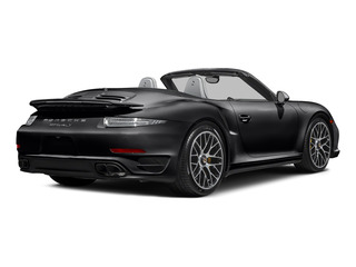 Black 2015 Porsche 911 Pictures 911 Cabriolet 2D S AWD H6 Turbo photos rear view