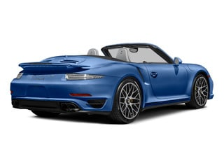 Sapphire Blue Metallic 2015 Porsche 911 Pictures 911 Cabriolet 2D S AWD H6 Turbo photos rear view