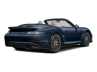 Dark Blue Metallic 2015 Porsche 911 Pictures 911 Cabriolet 2D S AWD H6 Turbo photos rear view