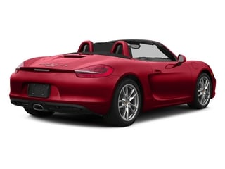Carmine Red 2015 Porsche Boxster Pictures Boxster Roadster 2D H6 photos rear view