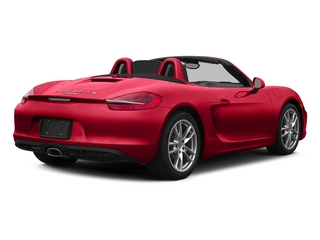 Guards Red 2015 Porsche Boxster Pictures Boxster Roadster 2D H6 photos rear view