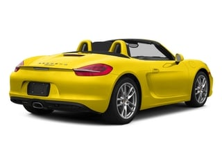 Racing Yellow 2015 Porsche Boxster Pictures Boxster Roadster 2D H6 photos rear view