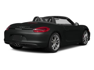 Jet Black Metallic 2015 Porsche Boxster Pictures Boxster Roadster 2D GTS H6 photos rear view