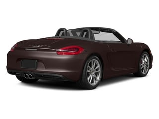 Mahogany Metallic 2015 Porsche Boxster Pictures Boxster Roadster 2D S H6 photos rear view