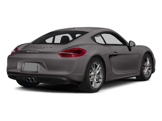 Agate Gray Metallic 2015 Porsche Cayman Pictures Cayman Coupe 2D GTS H6 photos rear view