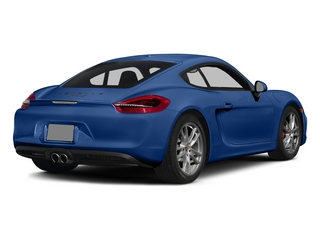 Sapphire Blue Metallic 2015 Porsche Cayman Pictures Cayman Coupe 2D GTS H6 photos rear view