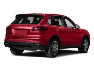 Carmine Red 2015 Porsche Cayenne Pictures Cayenne Utility 4D S V6 e-Hybrid AWD photos rear view