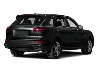 Jet Black Metallic 2015 Porsche Cayenne Pictures Cayenne Utility 4D S V6 e-Hybrid AWD photos rear view
