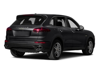 Black 2015 Porsche Cayenne Pictures Cayenne Utility 4D S V6 e-Hybrid AWD photos rear view