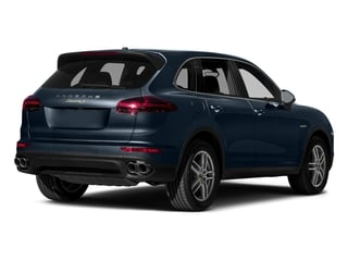Moonlight Blue Metallic 2015 Porsche Cayenne Pictures Cayenne Utility 4D S V6 e-Hybrid AWD photos rear view