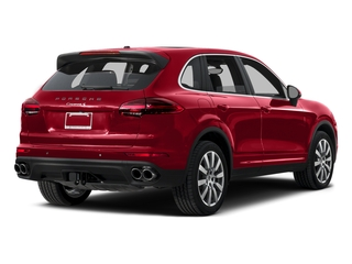 Carmine Red 2015 Porsche Cayenne Pictures Cayenne Utility 4D AWD V6 T-Diesel photos rear view